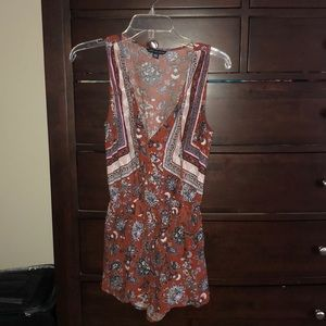 AE Patterned Romper